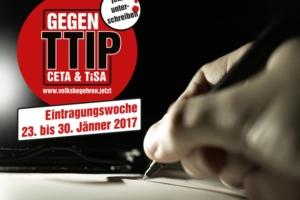 CETA-Volksbegehren geht an den Start