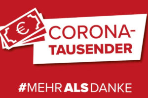 ÖGB - Corona-Tausender für alle, diedasLandam Laufen halten