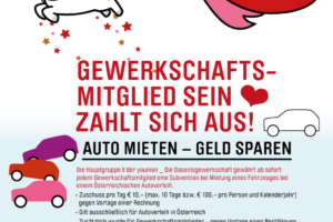 Auto mieten - Geld sparen