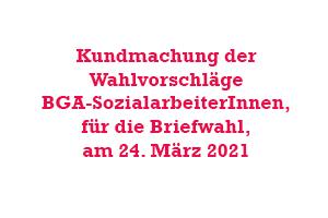Berufsgruppenausschuss der SozialarbeiterInnen